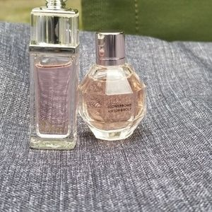 Flowerbomb and Dior Addicted